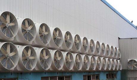 负压风机是通风机的最新类型,属于轴流风机