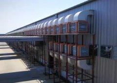 高温厂房降温为何首选工业冷风机?